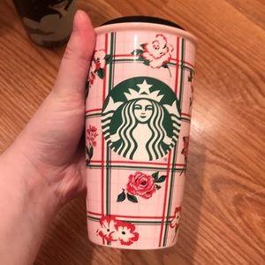 Bando/Starbucks rose to go mug!